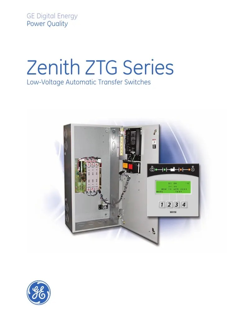 hight resolution of zenith automatic transfer switch wiring diagram