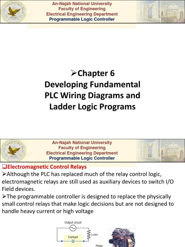 medium resolution of plc relay wiring
