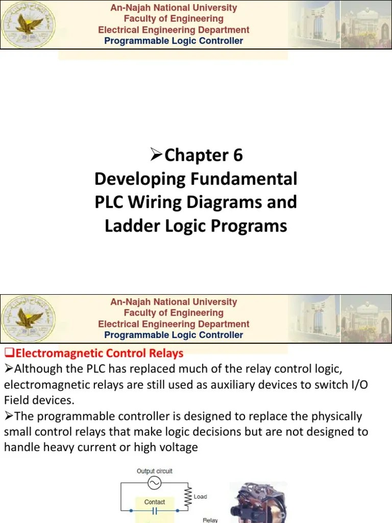 small resolution of plc relay wiring