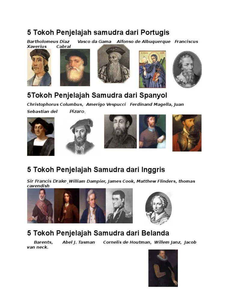 Penjelajah Samudra Dari Portugis : penjelajah, samudra, portugis, Tokoh, Penjelajah, Samudra, Portugis