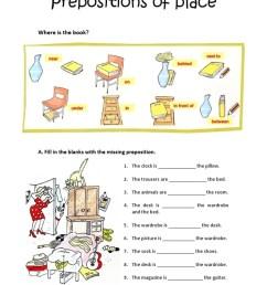 Preposition Worksheets 2nd Grade [ 1024 x 768 Pixel ]