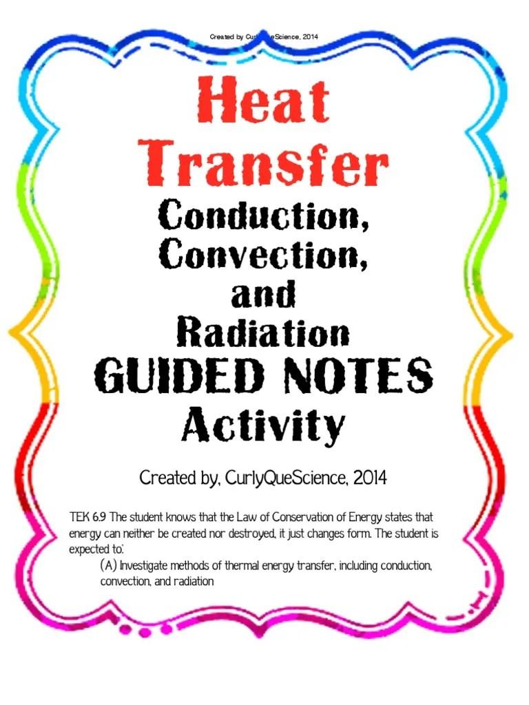 heattransferconductionconvectionradiationguidednotes   Heat   Heat Transfer [ 1024 x 768 Pixel ]