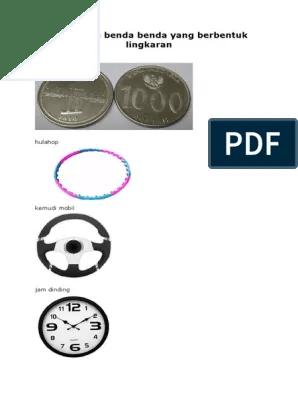 Benda Berbentuk Lingkaran : benda, berbentuk, lingkaran, Macam, Benda, Berbentuk, Lingkaran