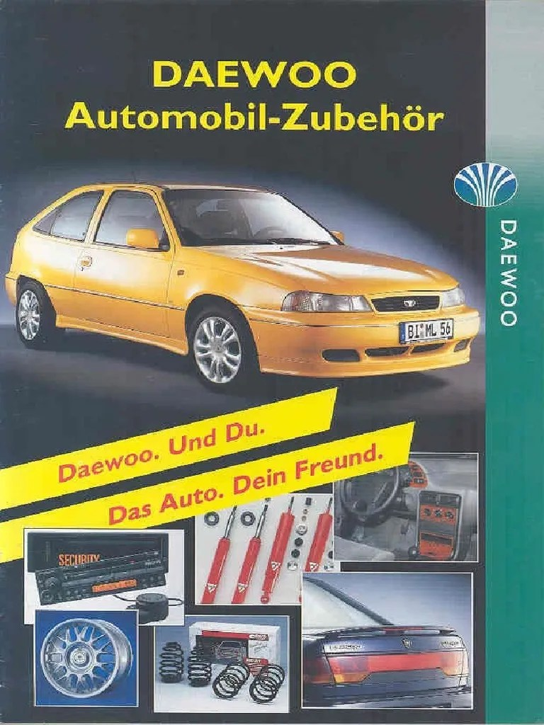 small resolution of daewoo cielo workshop manual english