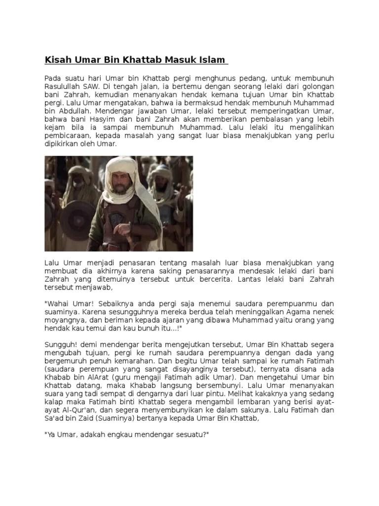 Sifat Teladan Umar Bin Khattab : sifat, teladan, khattab, Khatab
