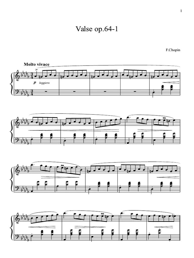 Love Story Beethoven Piano Sheet Music