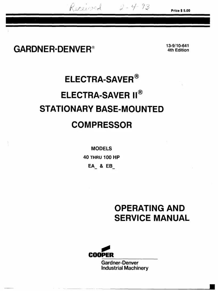 gardner denver motor wiring diagram [ 768 x 1024 Pixel ]
