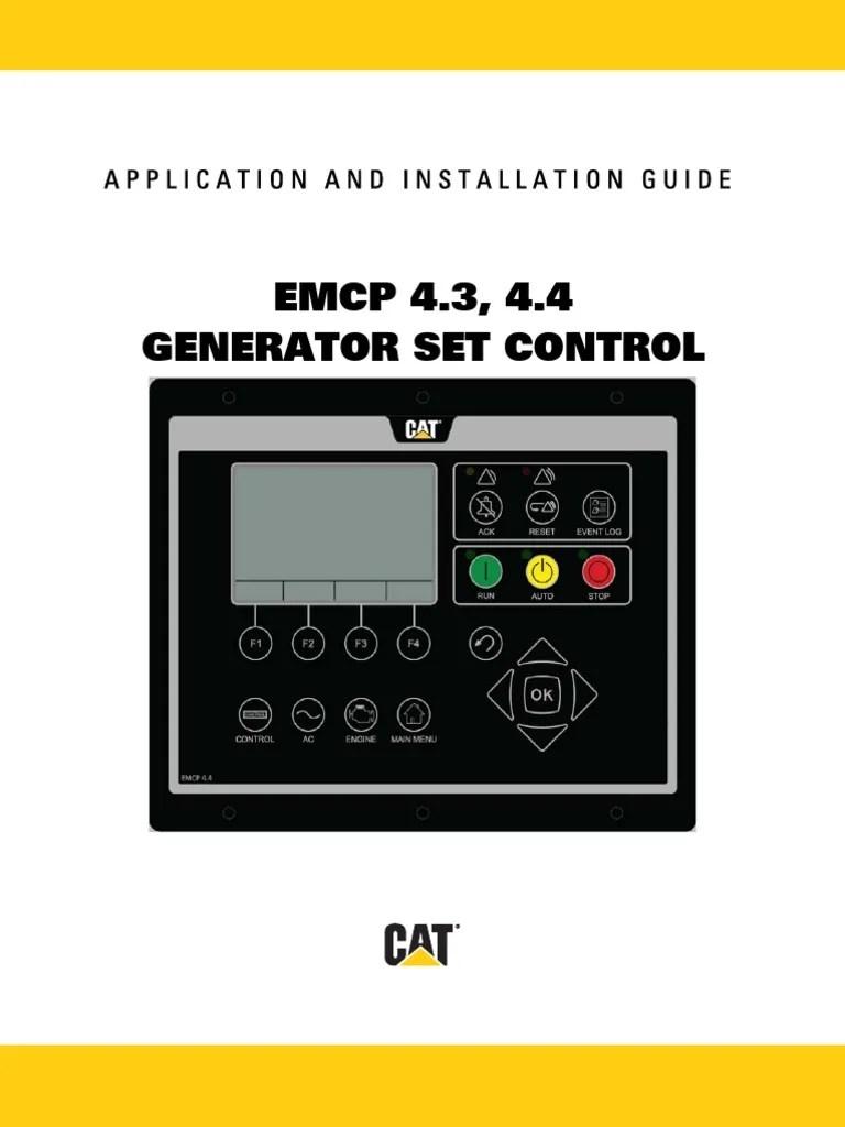 Cat 5 Wiring Diagram Help Emcp 4 3 4 4 Electric Generator