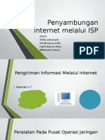 Penyambungan Internet : penyambungan, internet, Penyambungan, Internet, Melalui