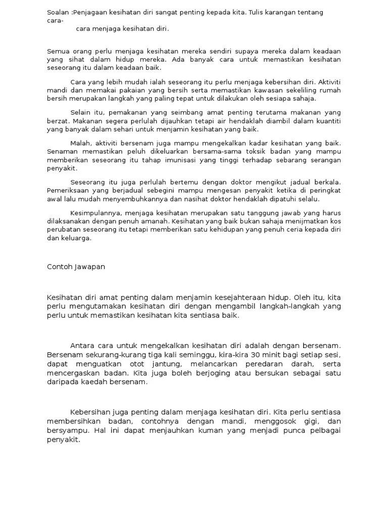 Contoh Ceramah Kepentingan Menjaga Alam Sekitar Surat Cc Cute766