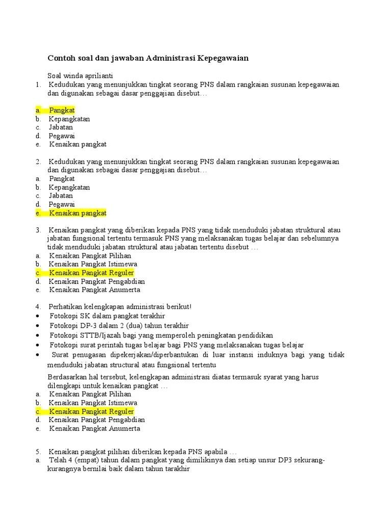 Tes Kompetensi Manajerial Polri : kompetensi, manajerial, polri, Contoh, Kompetensi, Jabatan, Struktural, Terbaru, Cute766