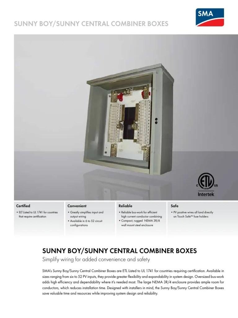 combiner box wiring diagram [ 768 x 1024 Pixel ]