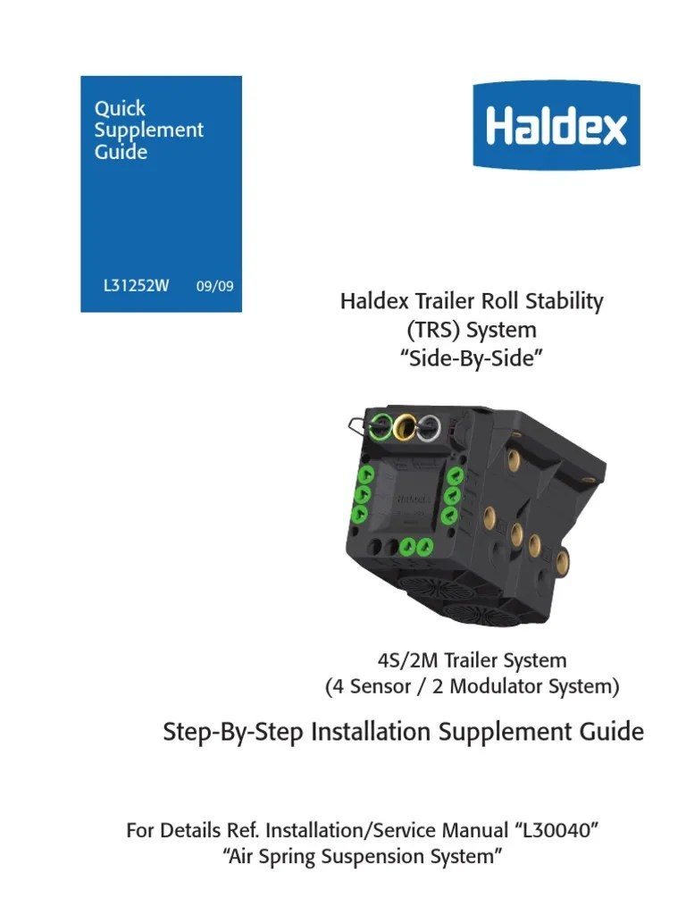 haldex trs wiring diagram harley davidson youtube guia electrical connector vehicle technology