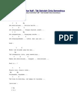 Lirik Lagu Tak Seindah Cinta Yang Semestinya : lirik, seindah, cinta, semestinya, Download, Meski, Seindah, Cover, Tulisan