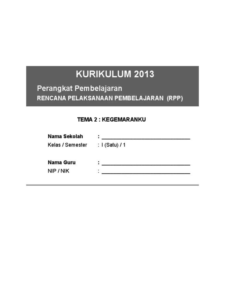 Download RPP SD Kurikulum 2013 Revisi Terbaru - NANGKRING.NET