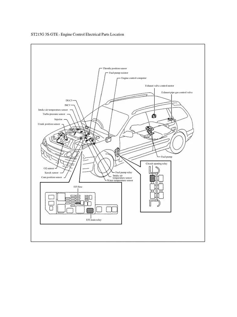 caldina electrical wiring diagram 215 electrical connector throttle [ 768 x 1024 Pixel ]