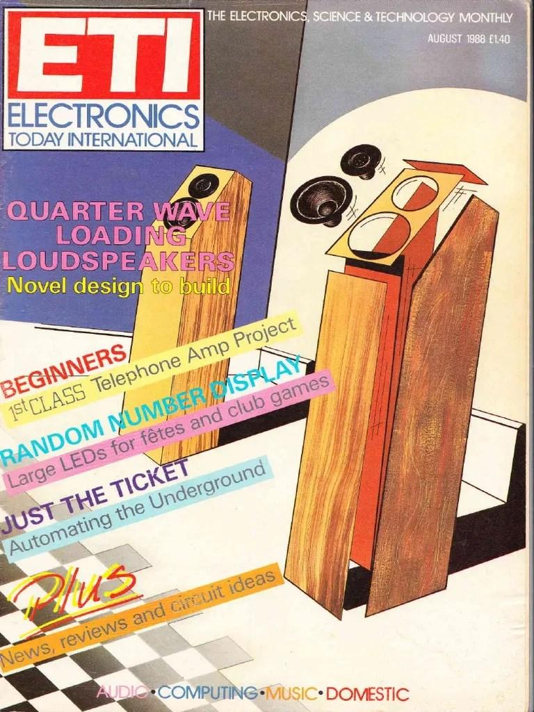 electronics today international august 1988 printed circuit board electronics [ 768 x 1024 Pixel ]