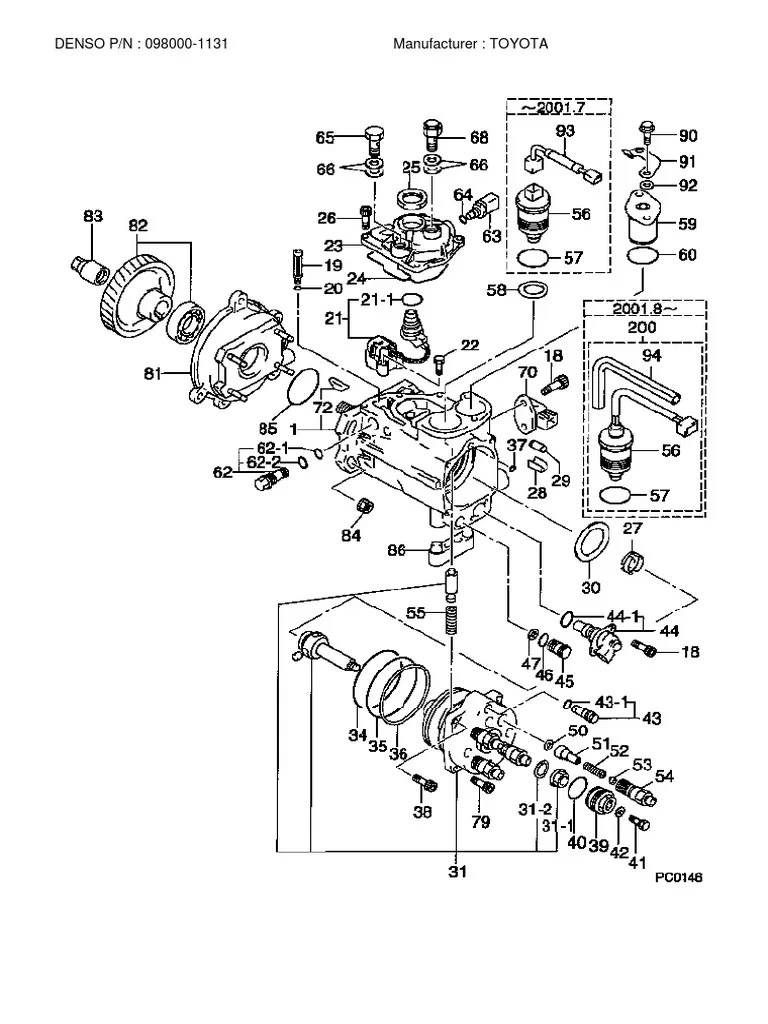 hino jo8e engine camshaft diagram [ 768 x 1024 Pixel ]