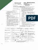 DIAGRAMA ELECTRICO c27 c32 Industrial