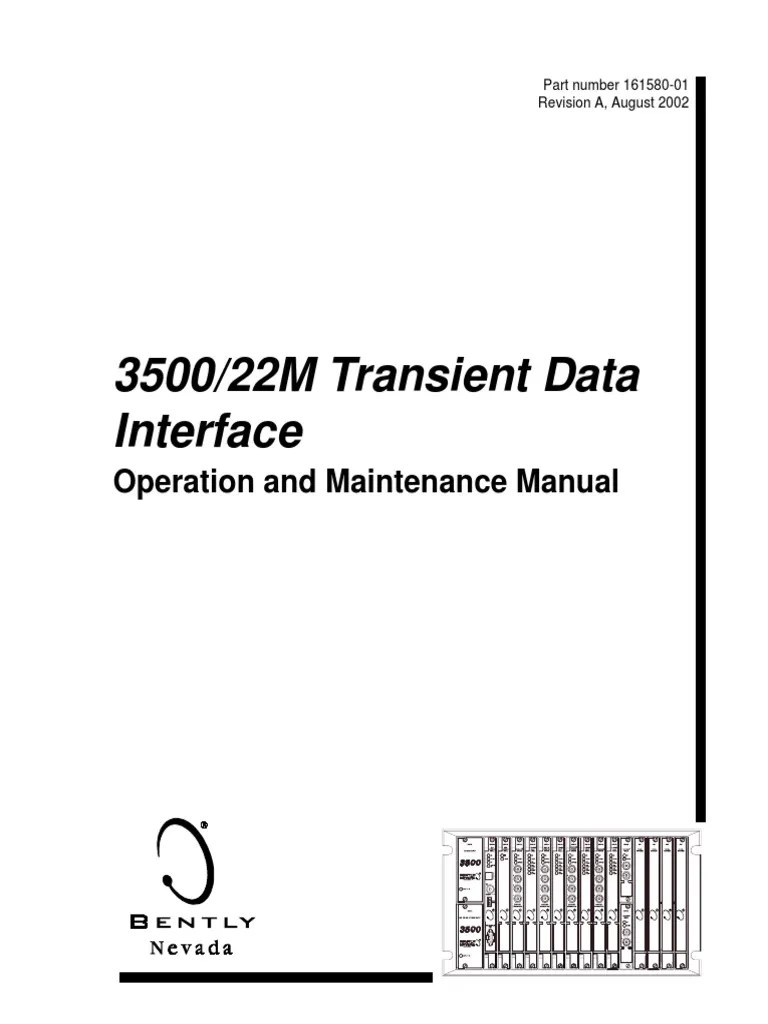 3500 22m transient data interface manual 161580 01 sampling signal processing signal electrical engineering  [ 768 x 1024 Pixel ]