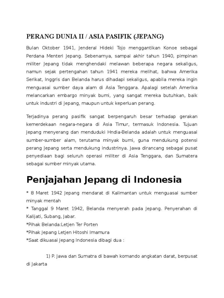 Latar Belakang Jepang Ingin Menguasai Indonesia Adalah : latar, belakang, jepang, ingin, menguasai, indonesia, adalah, Tujuan, Jepang, Menguasai, Indonesia, Mudah
