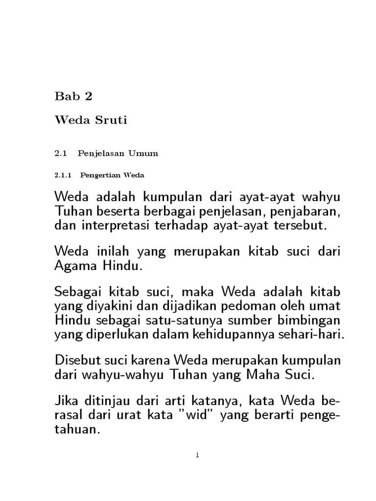 Bagian Weda Sruti : bagian, sruti, Slide2_Agama_Hindu.pdf