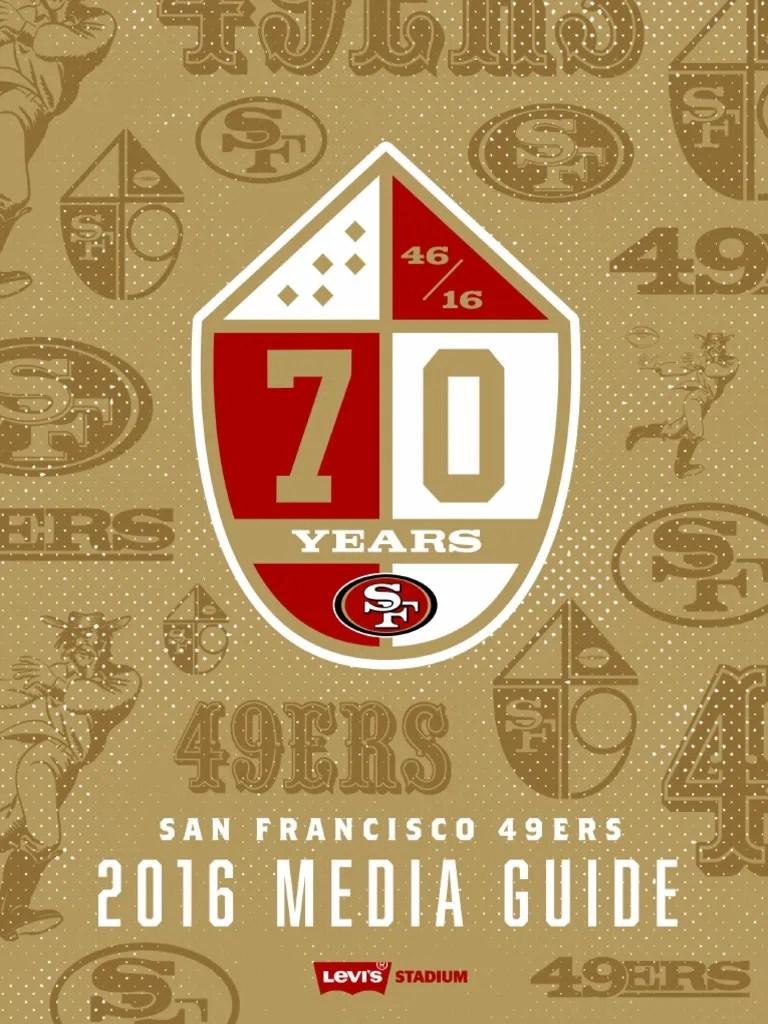 San Francisco 49ers 2016 Media Guide | San Francisco 49ers | Fox ...