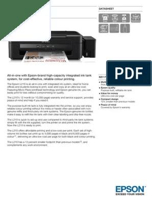 Cara Mengatasi Printer Epson L210 : mengatasi, printer, epson, Driver, Printer, Epson, Goreng