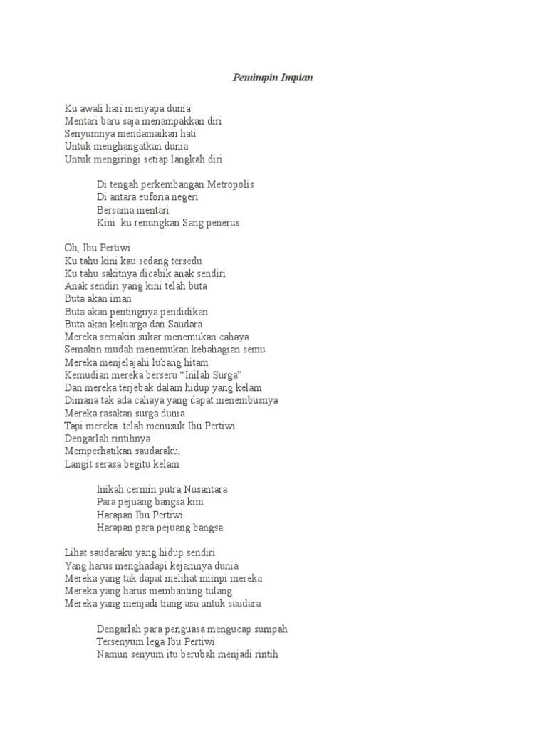 Langkah Langkah Musikalisasi Puisi : langkah, musikalisasi, puisi, Contoh, Musikalisasi, Puisi