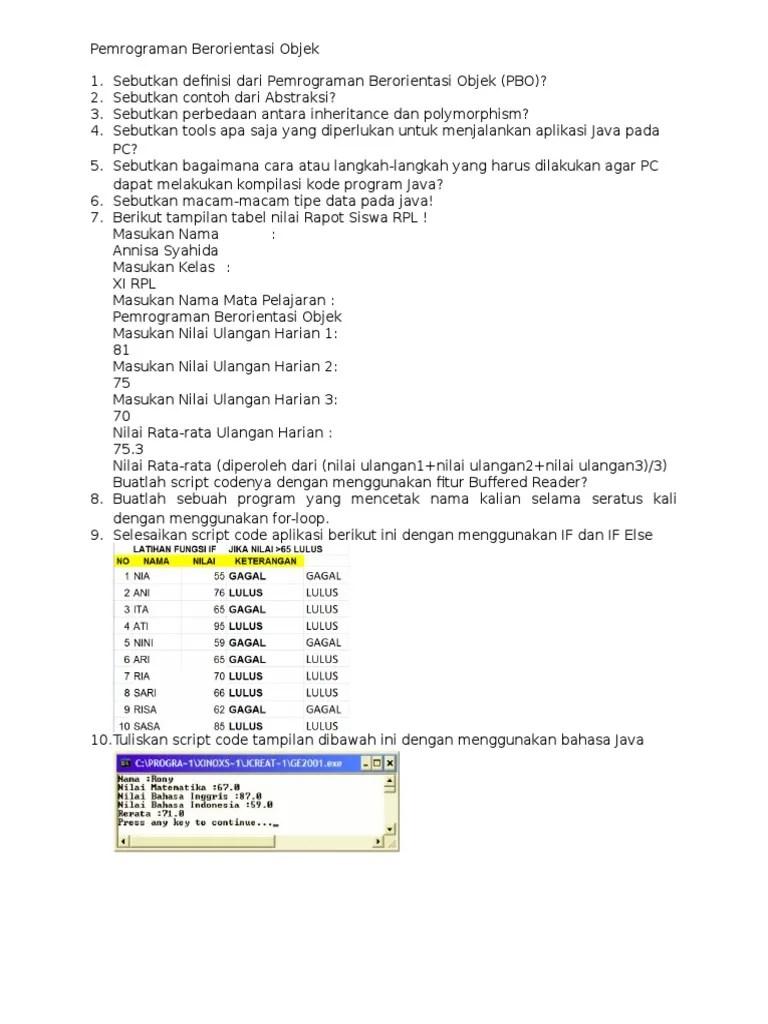 Contoh Soal Pemrograman Berorientasi Objek : contoh, pemrograman, berorientasi, objek, Blackjack, Pemrograman, Berorientasi, Objek, Cute766