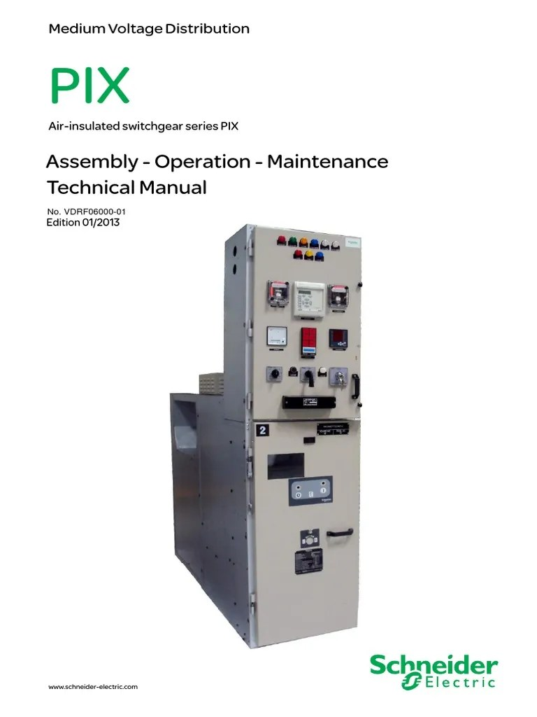 11kv scheinder switchgear operational manual pdf switch electrical connector [ 768 x 1024 Pixel ]