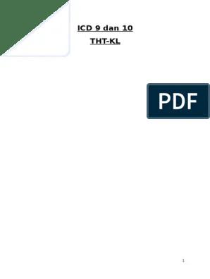 Icd 10 Tht : THT-KL, Vertigo