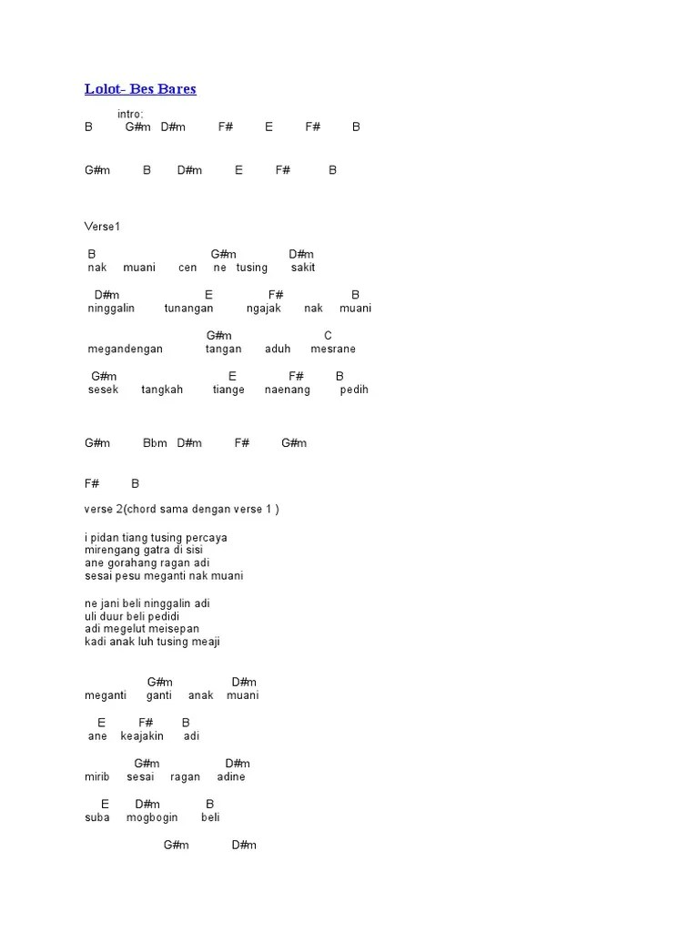 Kunci Gitar Lolot Lelut : kunci, gitar, lolot, lelut, Kunci, Gitar, Lolot, Sekali