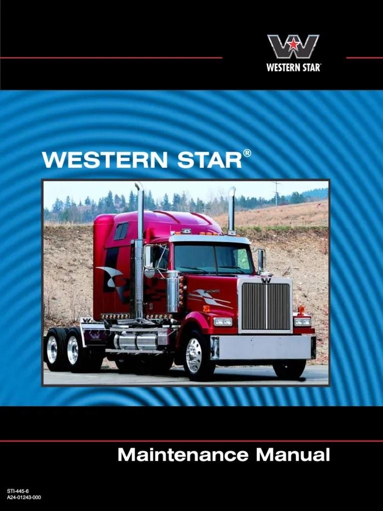 medium resolution of western star maintenance manual manual transmission transmission mechanics