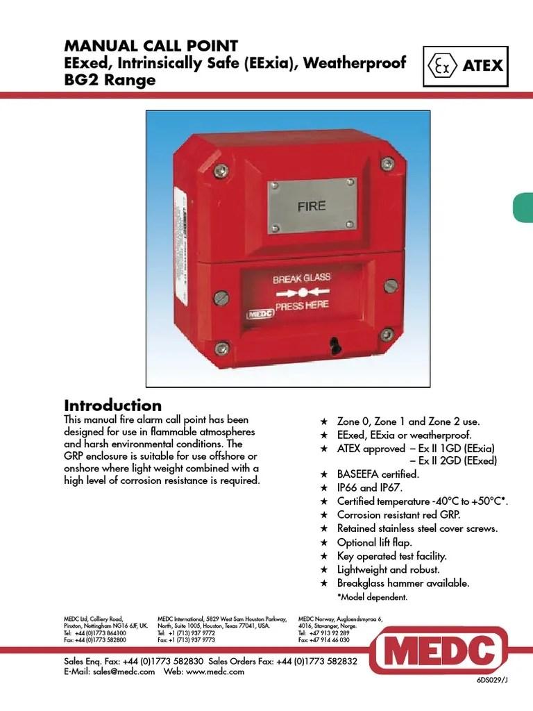 medium resolution of medc manual call point wiring diagram resistor design