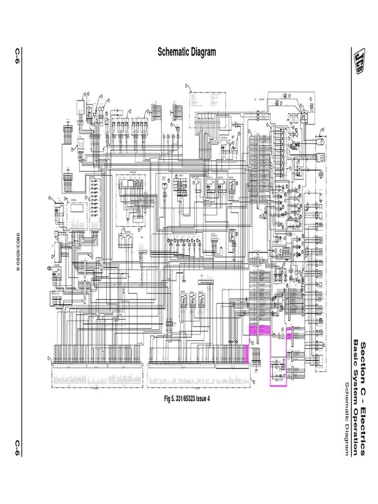 Wiring Diagram For Jcb Forklift