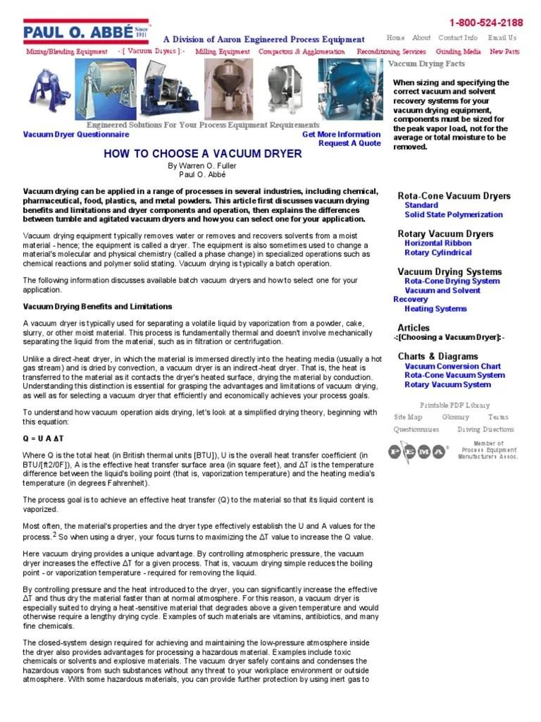 also how choose vacuum dryer clothes rh scribd