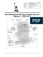 ddec 2 injector wiring diagram of hypervisor paccar 2010 multiplexed electrical system sevice manual p30 1011 switch transmission
