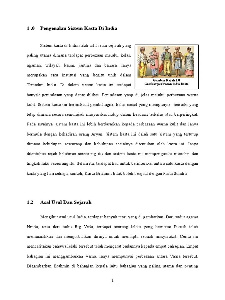 Sistem Kasta Di India : sistem, kasta, india, 213218278-SISTEM-KASTA-DAN-INDIA-MODEN-docx.docx