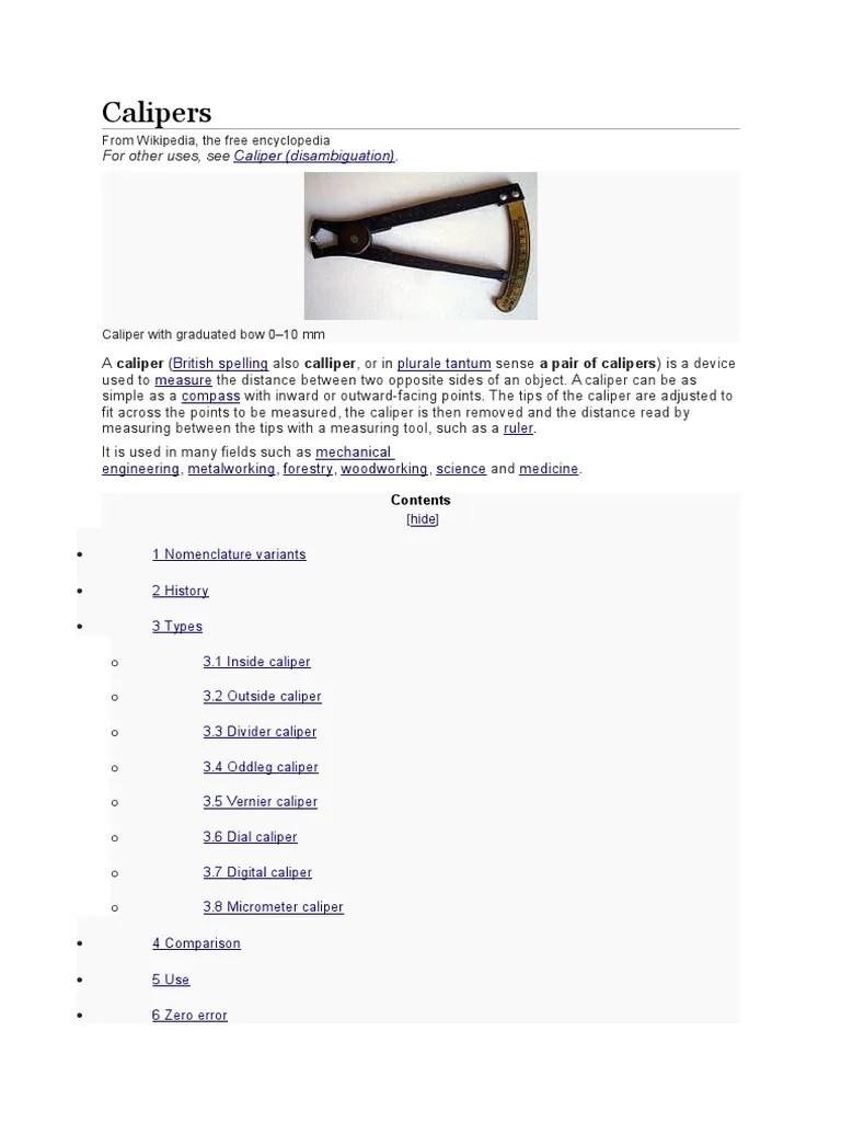 hight resolution of diagram of outside calliper