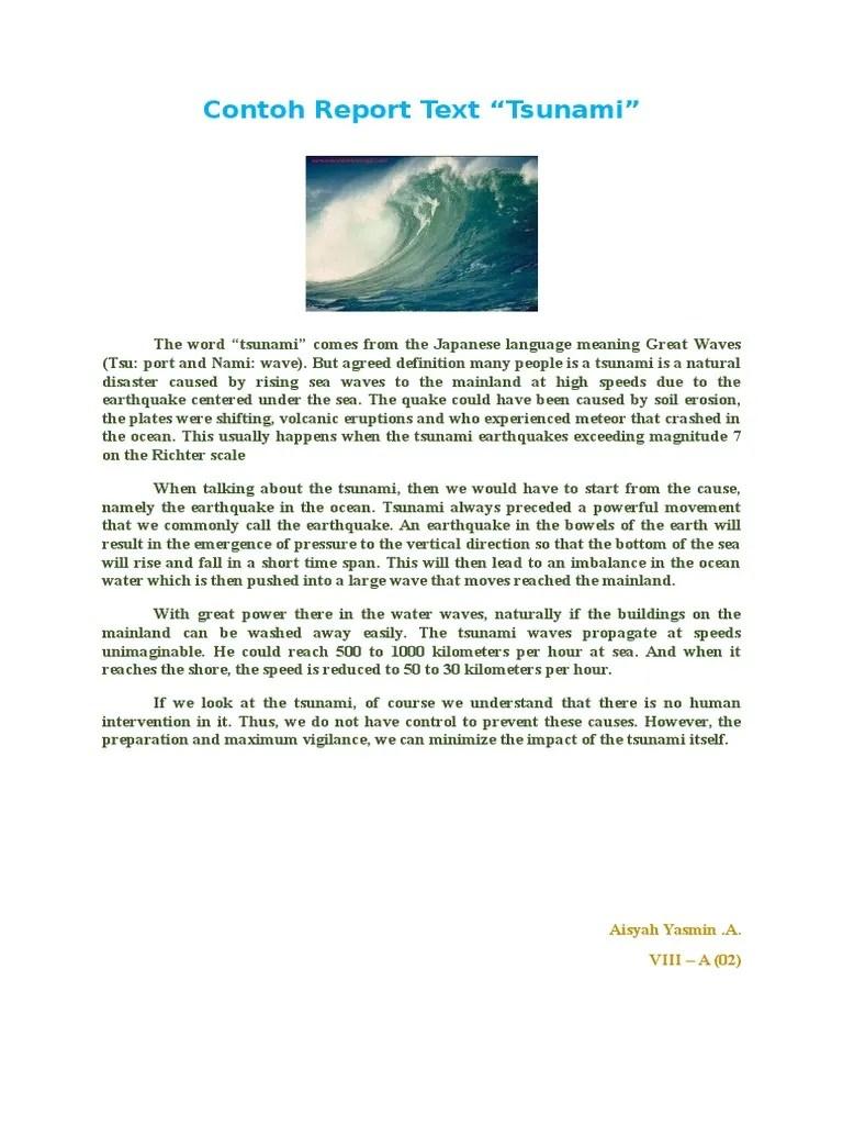 Contoh Recound Text Panjang Dan Pendek (Singkat)