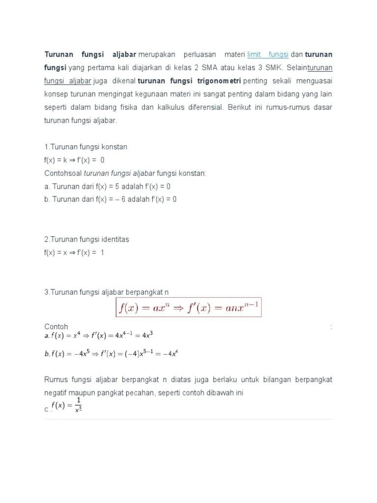 Dalam matematika, trigonometri dikenal sebagai nilai perbandingan yang dikaitkan dengan sebuah sudut. Contoh Soal Trigonometri Kelas 11 Smk Dan Pembahasannya Goreng