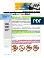 Issue no hardness testing pitfalls also wilson conversion chart short materials science tests rh scribd