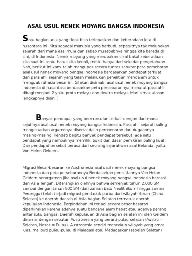 Asal Usul Nenek Moyang Bangsa Indonesia Ppt : nenek, moyang, bangsa, indonesia, Nenek, Moyang, Bangsa, Indonesia