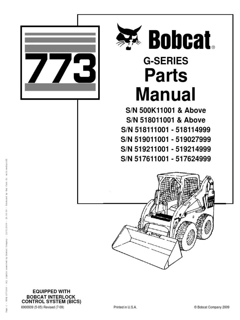 bobcat 773 part diagram for axle [ 768 x 1024 Pixel ]