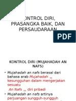Perilaku Kontrol Diri Prasangka Baik Dan Persaudaraan : perilaku, kontrol, prasangka, persaudaraan, Kontrol, Diri,, Prasangka, Persaudaraan