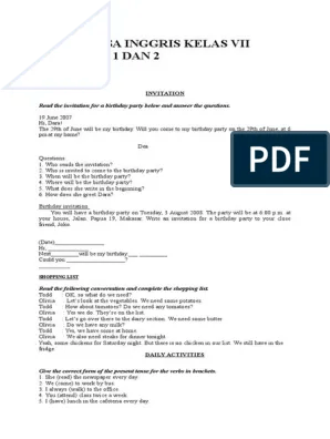 Bahan Ajar Bahasa Inggris Smp Kelas 8 Kurikulum 2013 : bahan, bahasa, inggris, kelas, kurikulum, Bahasa, Inggris, Kelas, Semester, Adverb, Preposition, Postposition
