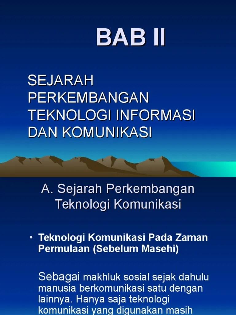 Sejarah Perkembangan Tik : sejarah, perkembangan, Sejarah, Perkembangan, TIK.ppt