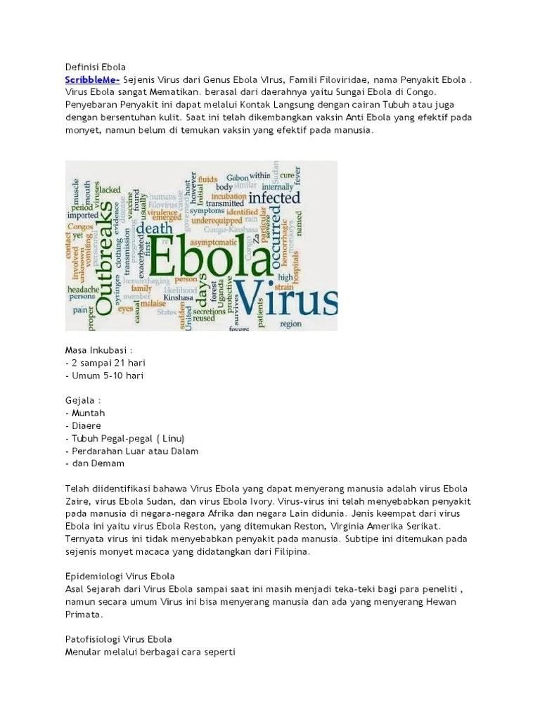 Definisi Ebola