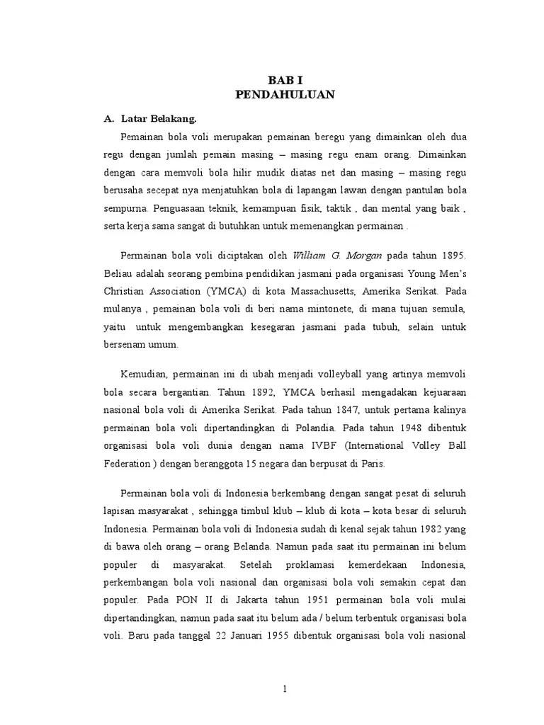 Makalah Tentang Bola Voli : makalah, tentang, Makalah, Volly